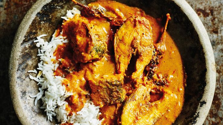 Fish curry (above)Serves 4 For the spice blend ¾ tsp cumin seeds Pinch of black peppercorns 1½ tsp brown mustard seeds 1 tbsp coriander seeds, or ground coriander For the curry 3 large tomatoes...