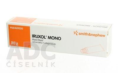Iruxol mono (klostrídiumpeptidáza A, kolagenáza)