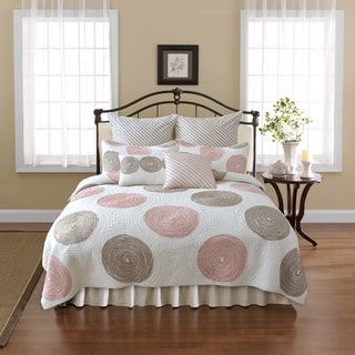 Shop for Nostalgia Home Madison Coral Quilt. Get free shipping at Overstock.com - Your Online Fashion Bedding Outlet Store! Get 5% in rewards with Club O! - 18848266