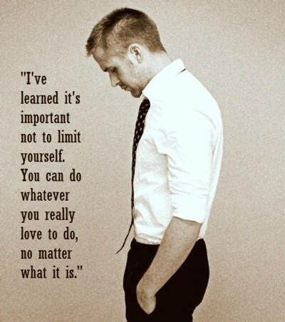 Ryan Goslings Words of Wisdom #Quote #Motivational #Inspirational #RyanGosling quotes | handsome guys picture handsome quotes