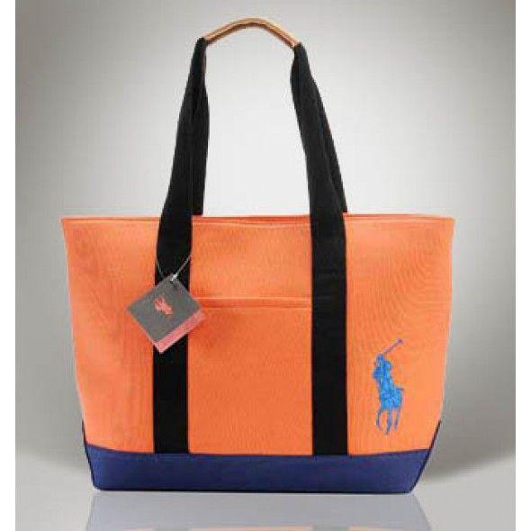 Ralph Lauren Canvas Pure Handbag White