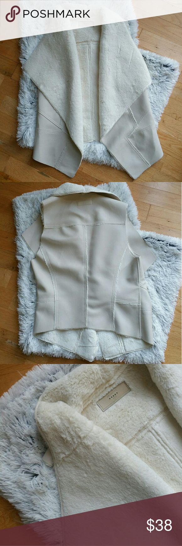 Blank NYC Faux Fur Vest - size large - also fits a medium - perfect condition Nordstrom Jackets & Coats Vests