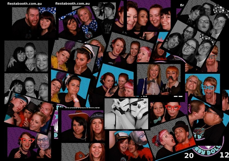 Roller derby league launch party photobooth S2D2