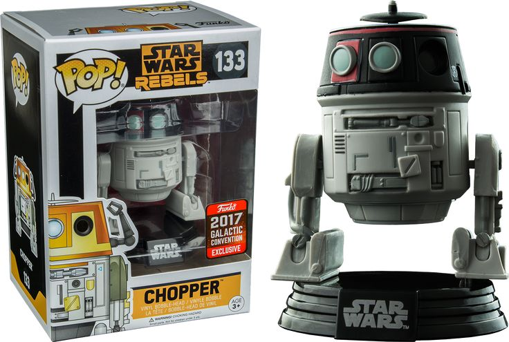 Star Wars: Rebels - Imperial Disguise Chopper Funko Pop! Vinyl Figure (2017 Galactic Convention Exclusive) | Popcultcha