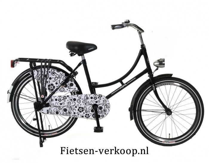Omafiets Zwart Barok 20 Inch | bestel gemakkelijk online op Fietsen-verkoop.nl