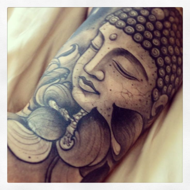 Buddha tattoo by Joao Bosco @ The Family Business in London.