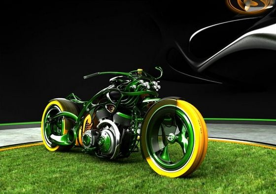 Sweet bike design