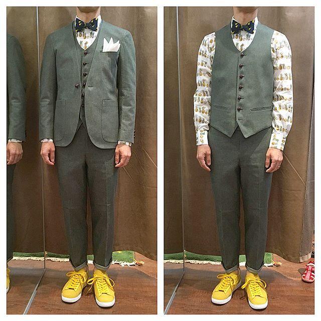 新郎衣装|デニムとカジュアルな小物でコーディネート : 結婚式の新郎衣装に関するお話|カジュアルウェディングまとめ