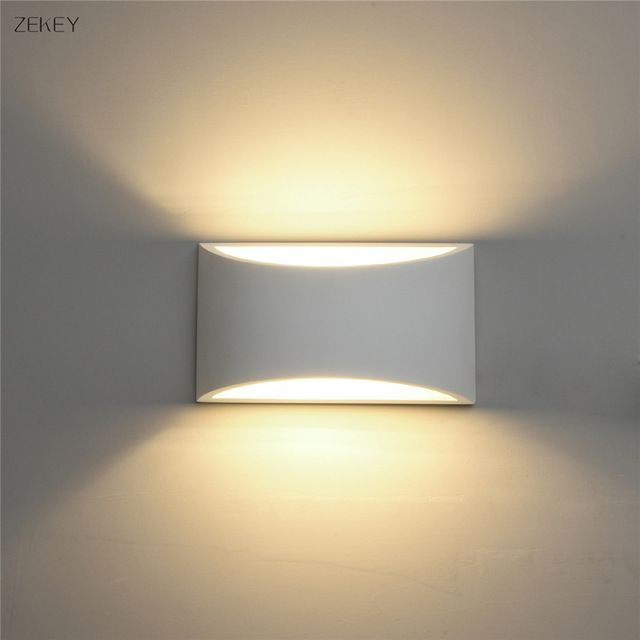 Gypsum wall lights | Lighting | Indoor wall lights, Led wall