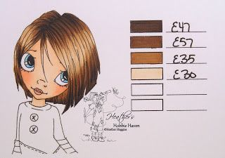 Heather's Hobbie Haven: Hair Color Copic Markers