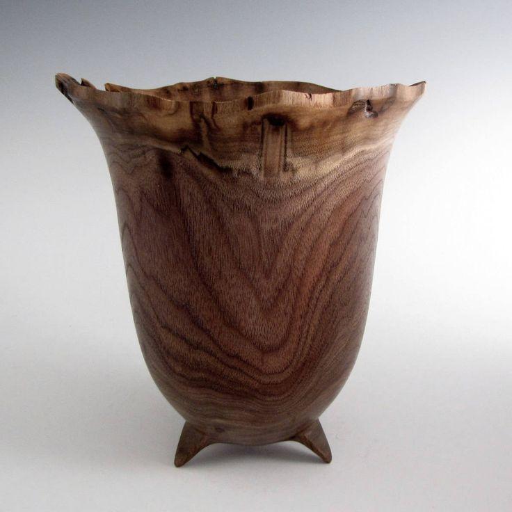 Walnut Wood Turned Bowl - Wood Bowl - Wooden Bowl- Wedding Gift Bowl, Housewarmig Gift, Mothers Day Gift, Hand Turned Bowl, Decorative Bowl by JLWoodTurning on Etsy