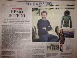 """Remo Ruffini talks about his likes and dislikes in this 20 Odd Question edit by J.J. Martin of The Wall Street Journal. I like reading about entrepreneurs in general and this article caught my eye. He states: """"A man with ugly socks is telling me that he doesn't have elegance."""" I don't normally associate elegance with men or read about fashion but reading that quote had me stretch my mind a little. Can straight men still be elegant and masculine at the same time? I found myself wondering."""