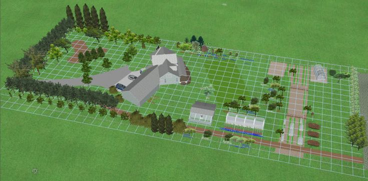 Cattle acreage design layout google search farm layout 1 acre farm layout