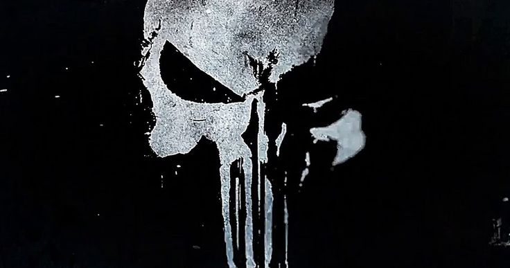 Netflix's New Punisher Logo Brings Back the Classic Skull -- Netflix has unveiled the official logo for The Punisher as the streaming giant prepares for its big week at Comic-Con. -- http://tvweb.com/punisher-netflix-series-skull-logo/