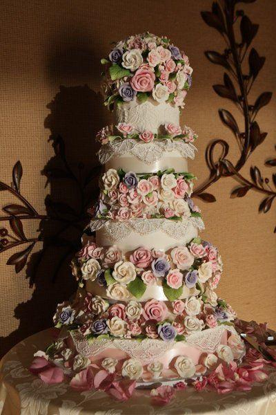 tarta de boda - wedding cakes- torta de matrimonio colorida