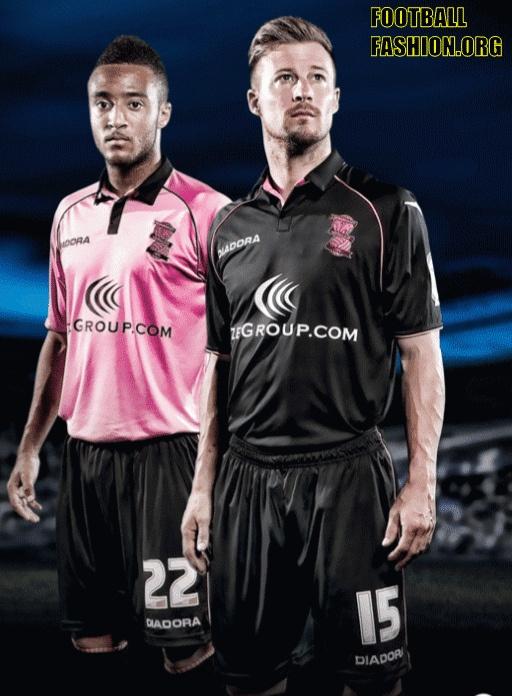 Birmingham City FC Diadora 2012/13 Away and Third Kits