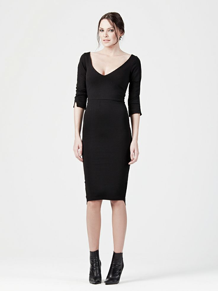 BODYCON DRESS http://www.beyoubyyvonne.com/en/shop/dresses/midi-bodycon-dress.html