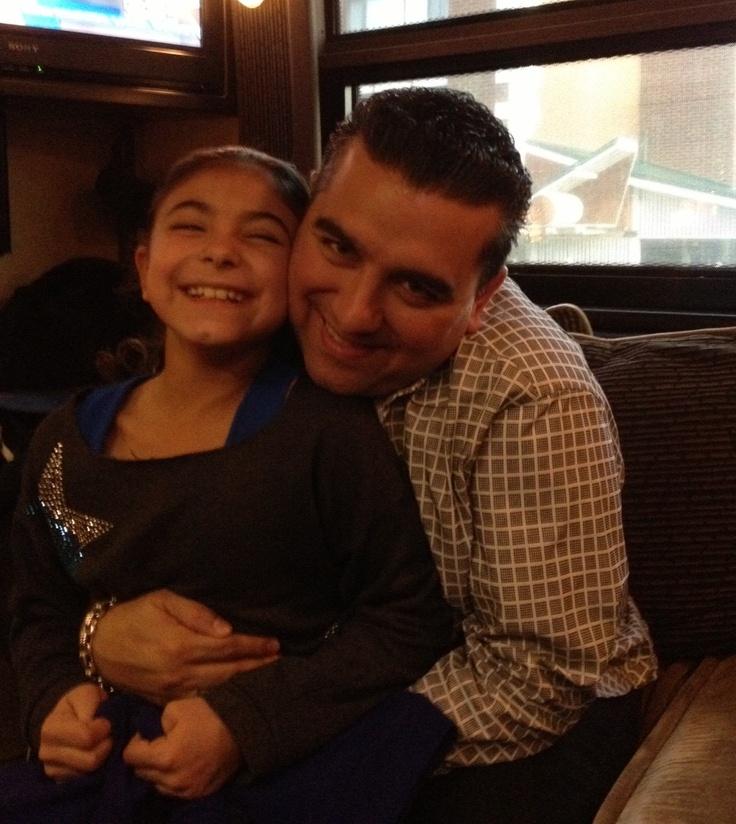Buddy and Sofia on tour