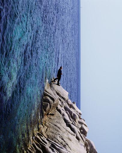 Philippe Ramette, Exploration rationnelle des fonds sous-marins: promenade irrationnelle