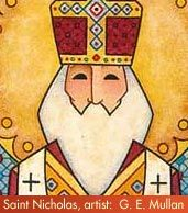 St. Nicholas and Santa are not the same....the history shows what a leap you have to make to believe this