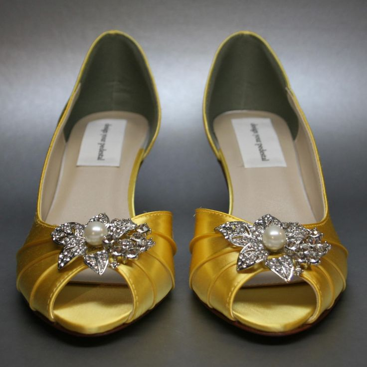 12c3a642191 Yellow Wedding Shoes. Wedding By Designs Sunshine Yellow Wedding ...