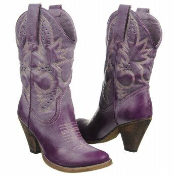 a6847eb5067c4 Luna Blue Shoe Diaries: Cowboy boots are coming!!!....If I'm getting cowboy  boots, they're going to be purple!!!!   Wedding   Pinterest