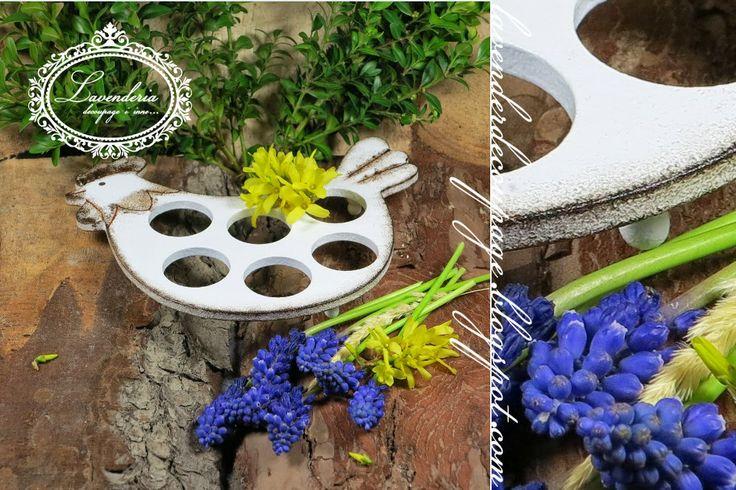 """Lavenderia - decoupage i inne: Wielkanoc """"Podstawka na jajka"""""""
