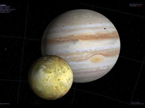 Real Planet Videos Jupiter Rotation Video Largest Planet Video - YouTube