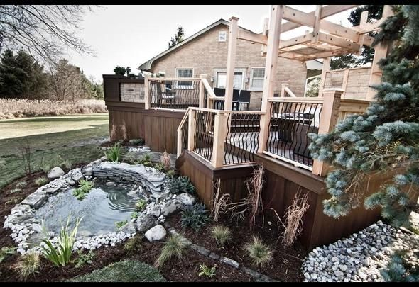 "Rio Style Deck Rails Used On ""Decked Out"""