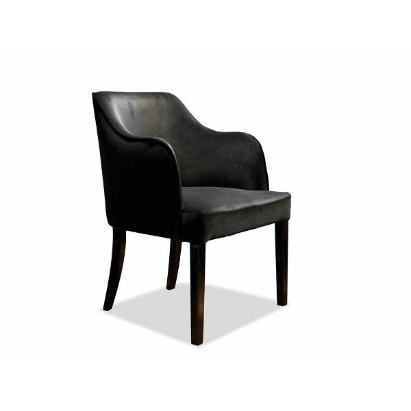Dom Edizioni Dinner Chair Loucky fabric Dinner chair with not removable cover