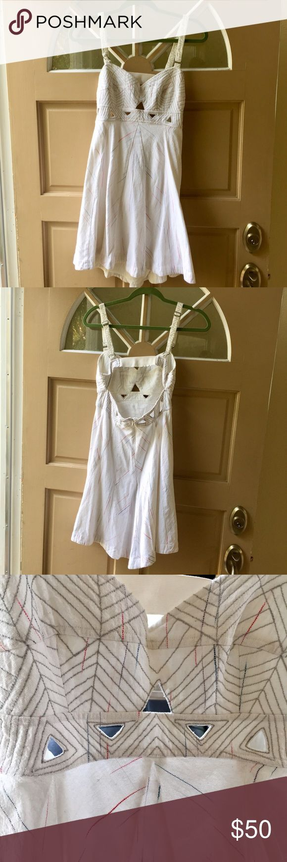 Free people white dress Free people New Romantics dress. No trades. 🤗offers accepted when a bundle order is created. Free People Dresses Mini