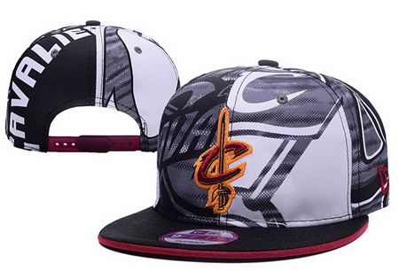 "Cleveland Cavaliers New Era ""NBA 2016 All Team Screen Print Snapback Cap"""