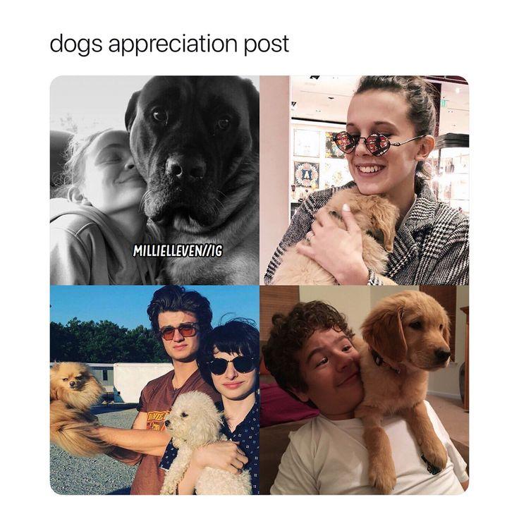 "12.9k Likes, 60 Comments - Sᴛʀᴀɴɢᴇʀ Tʜɪɴɢs (+) Pᴏsᴛs ❥ (@millielleven) on Instagram: ""this is so heartwarming ! - {#strangerthings}"""