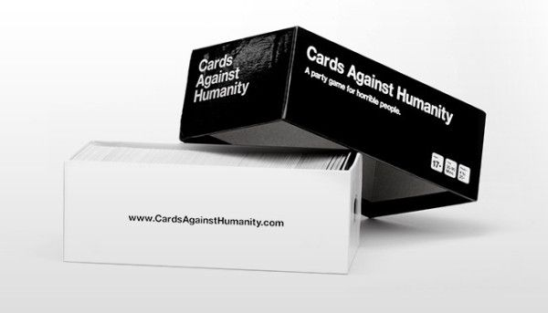 Cards Against Humanity, A game for horrible people, $25 on amazon.com