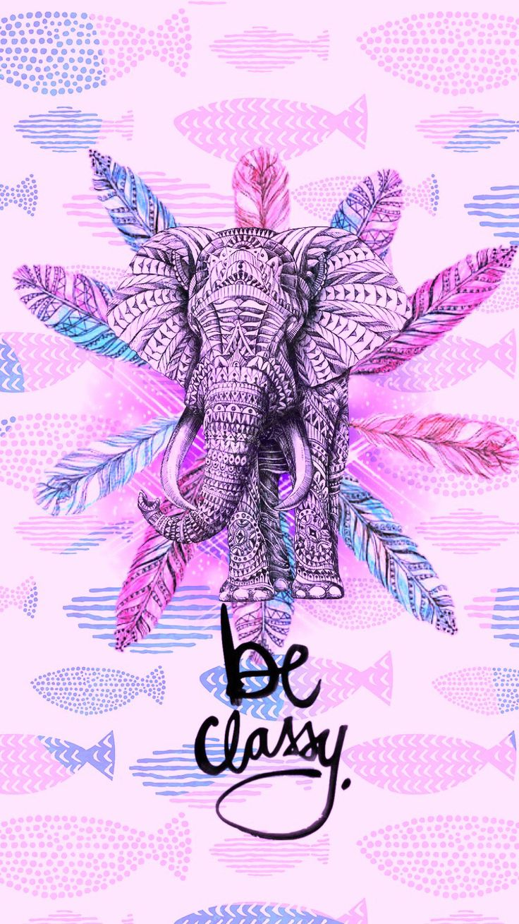 Wallpaper iphone mandala - Cute Elephant More Elephant Wallpapercute Elephantiphone