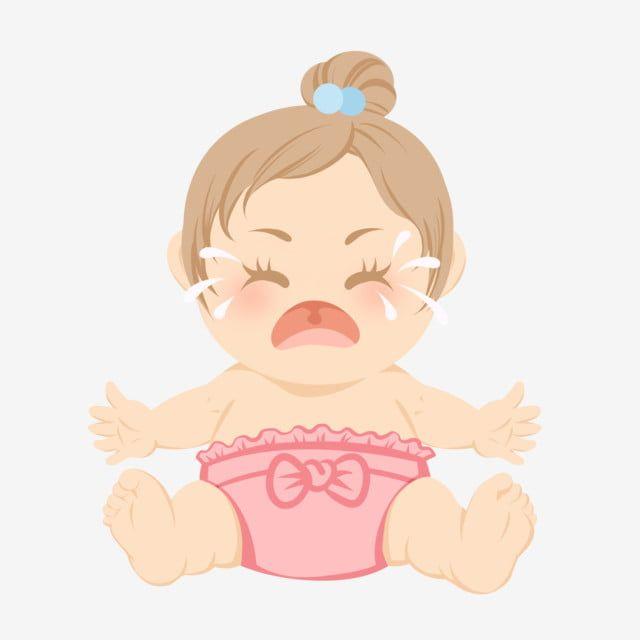 بكاء طفل رضيع التوضيح البكاء كارتون اطفال البكاء Png وملف Psd للتحميل مجانا Baby Illustration Illustration Mario Characters