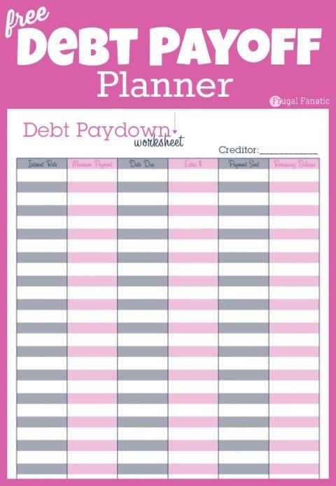 debt payoff planner