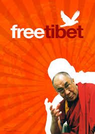 Image result for free tibet movement