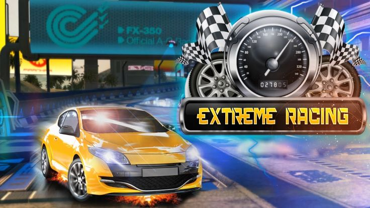 #CarRacing Experience the #Speed, Drifting, and Fun of all-out arcade 3D Extreme #Racing.