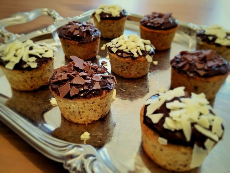 Glücksstücke: Schoko-Nuss-Kuchen - perfekt zur Verwertung von Schokoresten