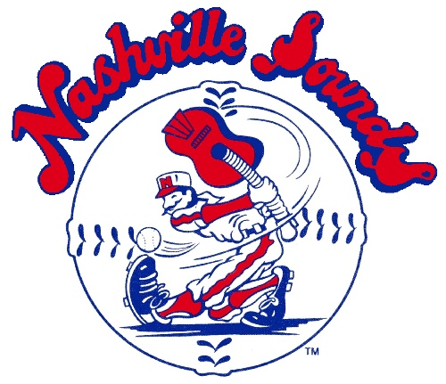 Old Nashville Sounds logo...prefer this to their new one.  Triple A Baseball Team.
