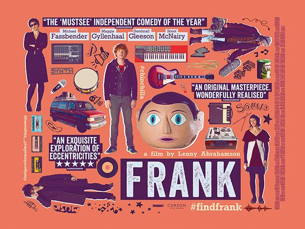 Frank - movie poster - Scott Woolston