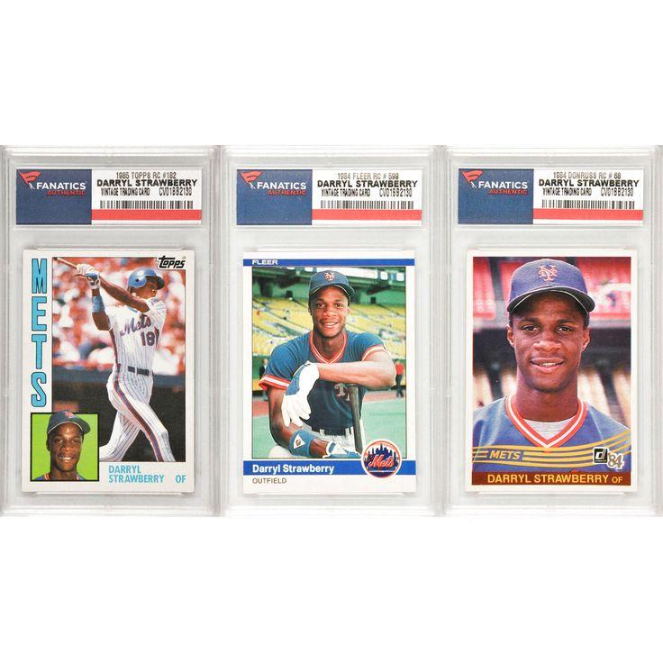 Darryl Strawberry New York Mets 3 Card Rookie Lot - $23.99