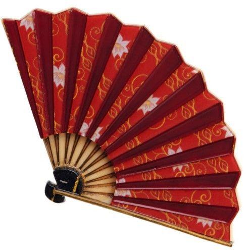 Erstwilder NEW Nihon Journey | Magestic Mai Ogi | fan Brooch | Orient Inspired Brooch