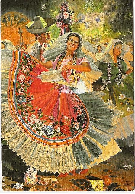 Vintage Mexican Calendar Art : Best images about mexican calendar art and mexicanas