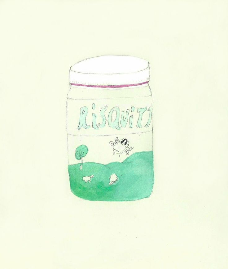 """La parola bella """" RISQUITTO"""" in un'illustrazione di Flaminia Cavagnaro"""