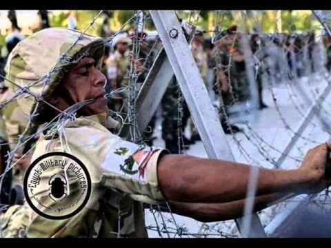 تسلم ايدك حسين الجسمى للجيش المصري - YouTube