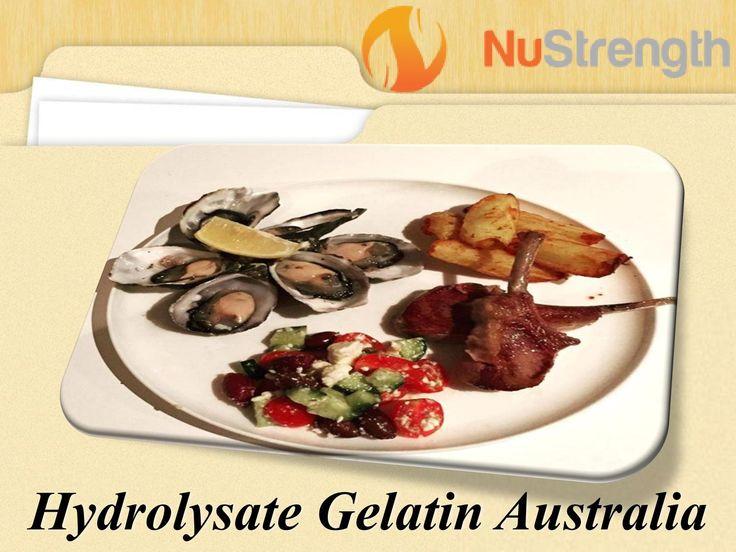 Hydrolysate Gelatin Protein Powders Australia