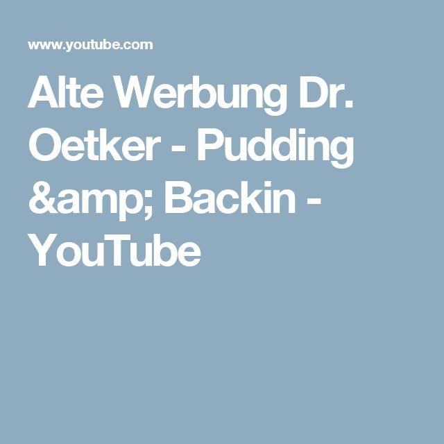 Die Besten 25+ Dr Oetker Pudding Ideen Auf Pinterest