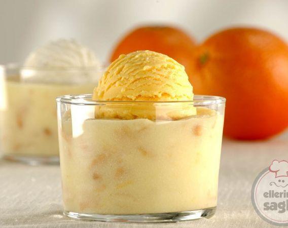portakallı sütlü tatlı